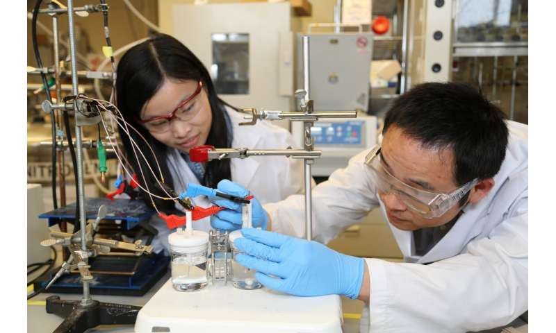 Artificial photosynthesis gets big boost from new catalyst