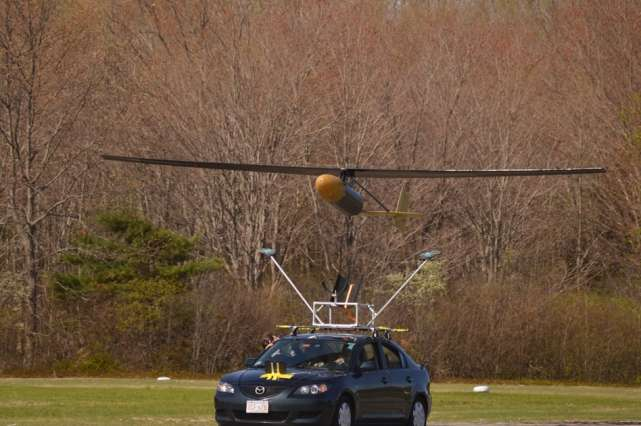 Engineers design drones that can stay aloft for five days