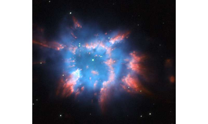 Image: Hubble captures planetary nebula NGC 6326