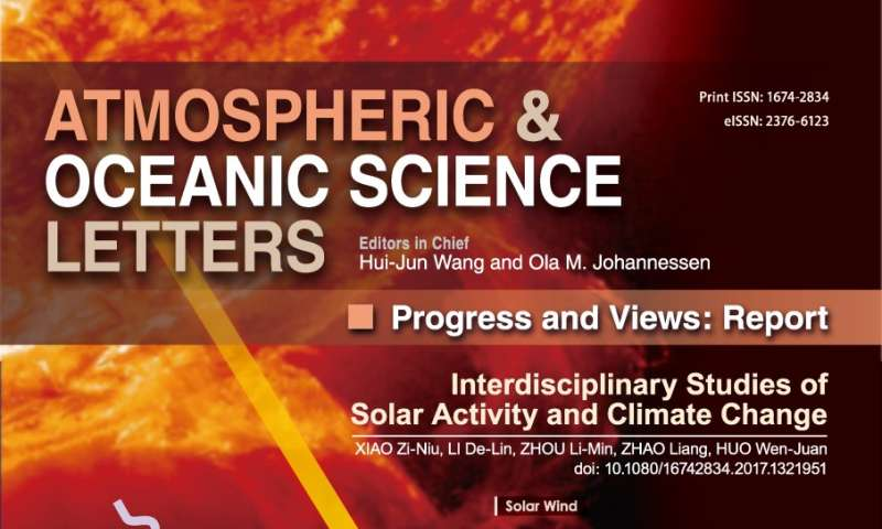 Interdisciplinary studies reveal relationship between solar activity and climate change
