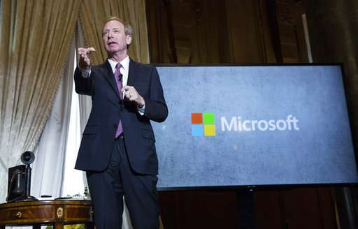 Microsoft eyes buffer zone in TV airwaves for rural internet