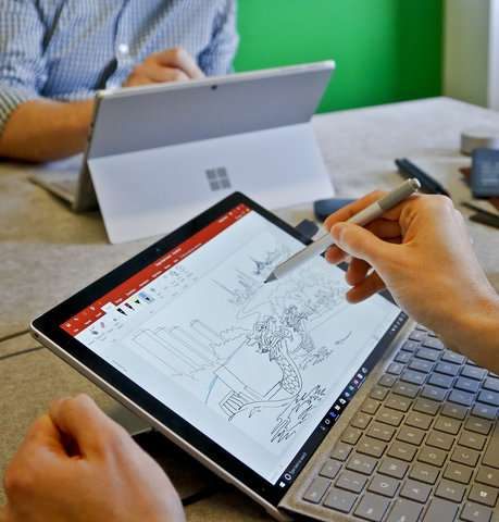 Microsoft Surface gets battery boost, better viewing angles