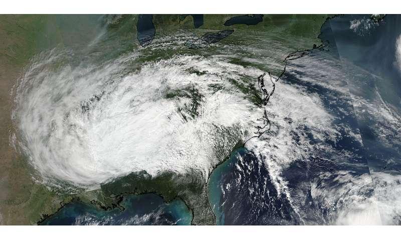 NASA-NOAA satellite shows extent of Irma's remnants