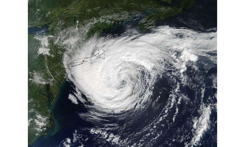 NASA's Terra satellite sees a very stubborn post-Tropical Cyclone Jose