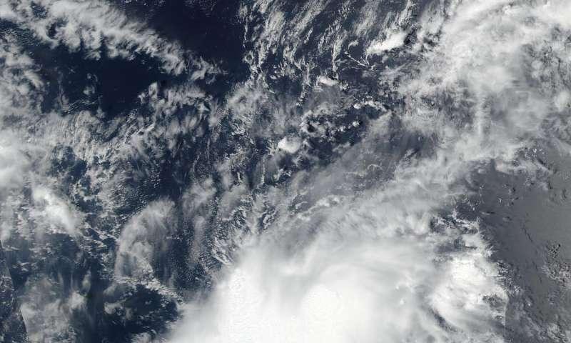 NASA watching Tropical Storm Jose get organized