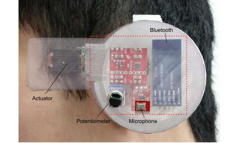 Personalized 'earable' sensor monitors body temperature in real time