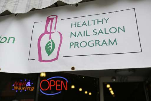 Push for healthier nail salons in California finding success