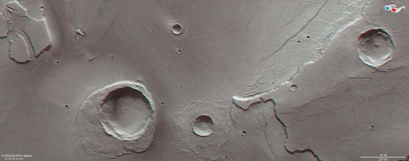 Remnants of a mega-flood on Mars