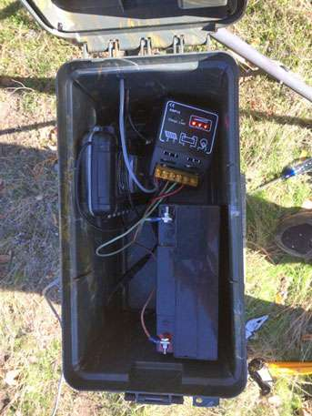 Solar tracking gives scientists tools to follow small animals