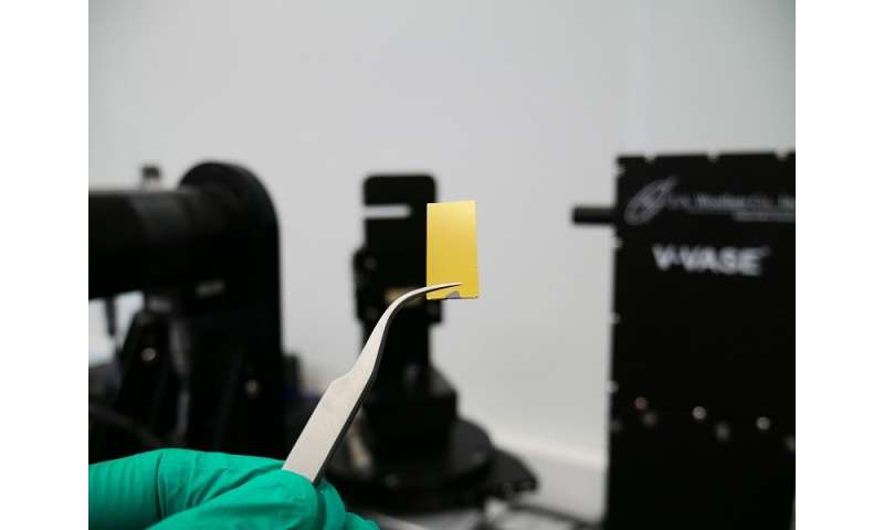 Scientists revisit optical constants of ultrathin gold films