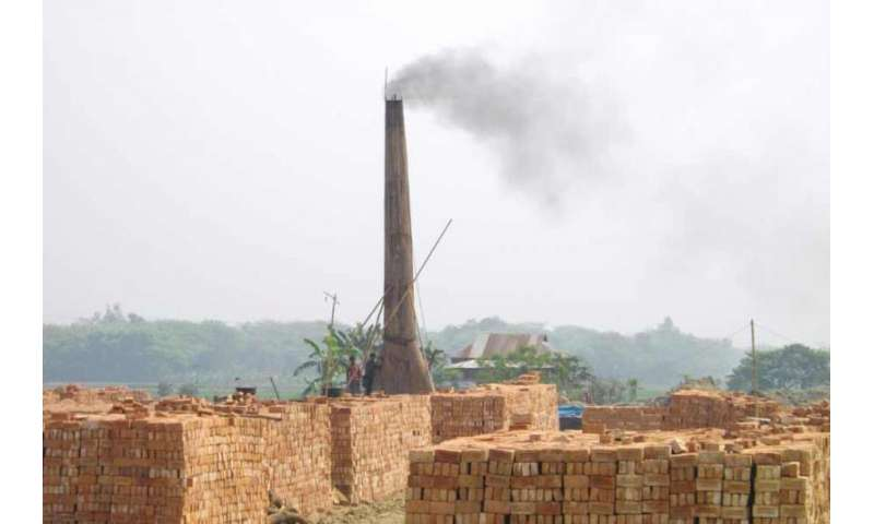Researchers track the environmental impact of brick kilns in South Asia