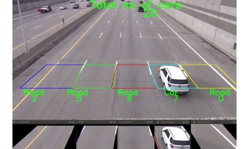 Researchers 'count cars' -- literally -- to find a better way to control heavy traffic
