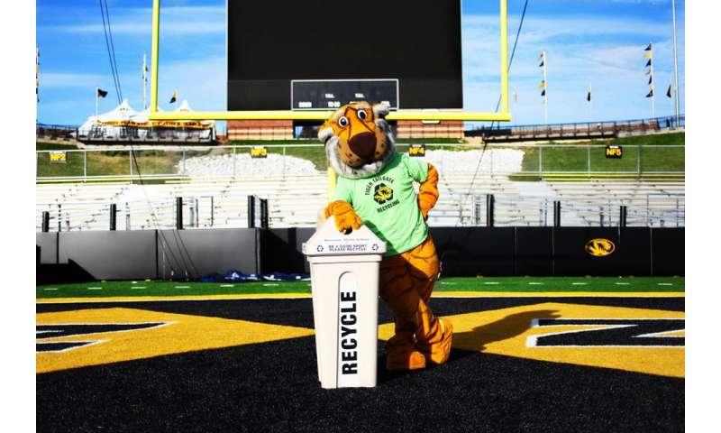 Study reveals ways collegiate sports venues can achieve 'zero waste'