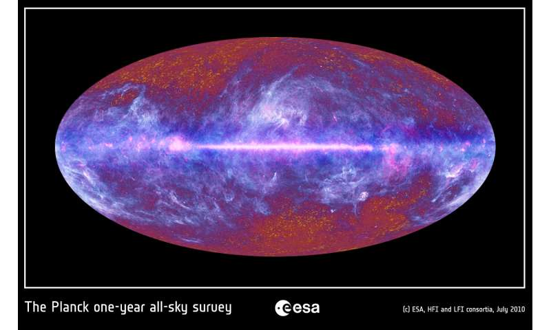 Astrophysicists map out the light energy contained within the Milky Way