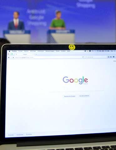 EU fines Google a record 2.4 billion euros in antitrust case