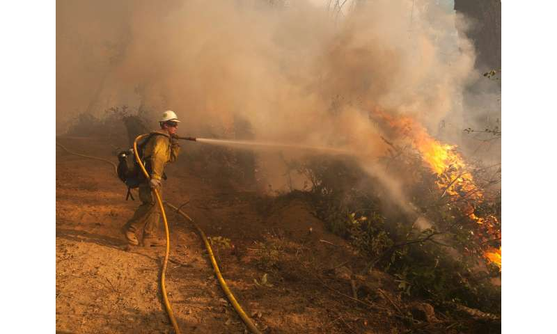 Promising new wildfire behavior model may aid fire managers in near real-time