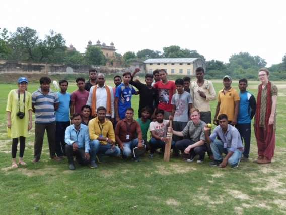 Researcher uses cricket tournaments to explore caste interactions in rural India