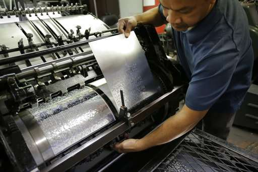 Technology seeks to preserve fading skill: Braille literacy