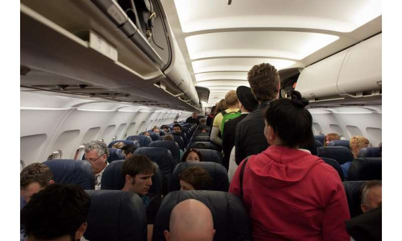 Researchers say factors like plane size and boarding method can have a huge impact on infection rates