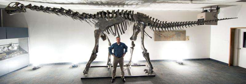 Researchers discover Moabosaurus in Utah