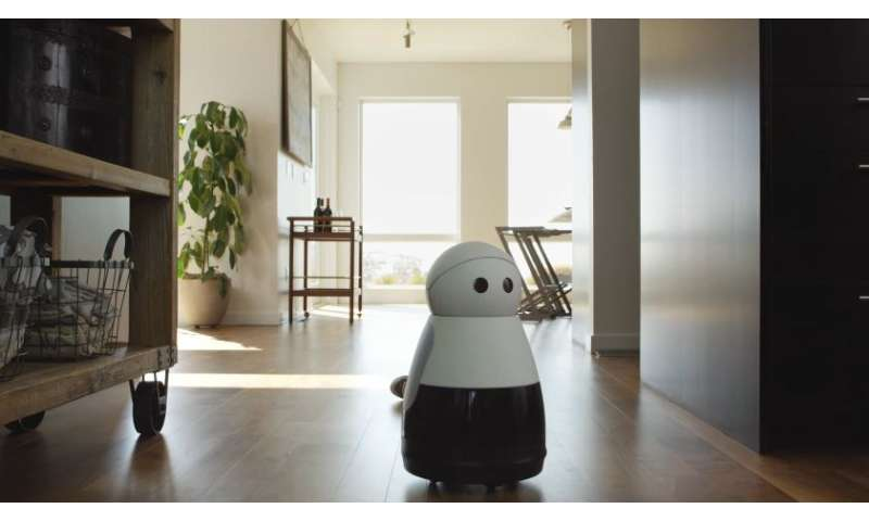 Kuri robot speaks language of companionship in chirps and beeps