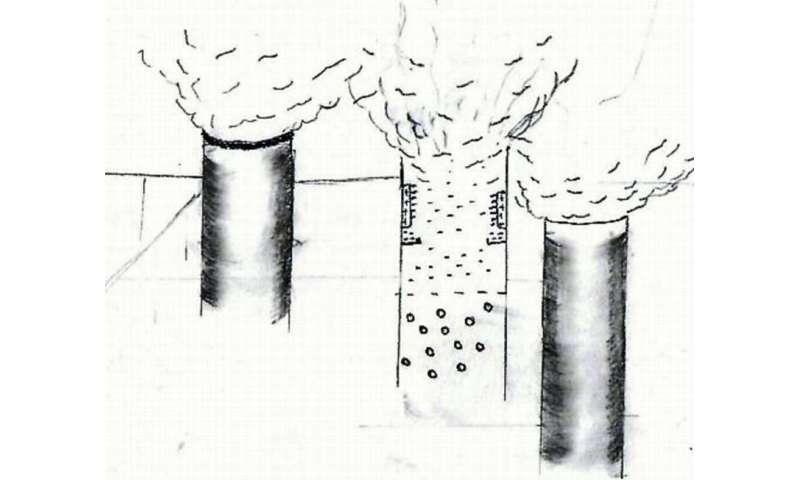Static electricity's tiny sparks