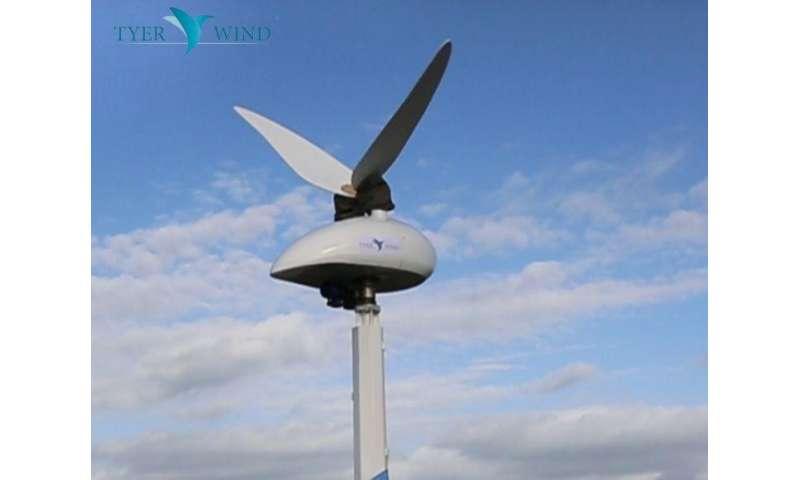 Novel wind turbine flaps like a hummingbird