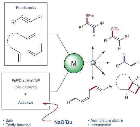 New method for activating Earth-abundant metal catalysts