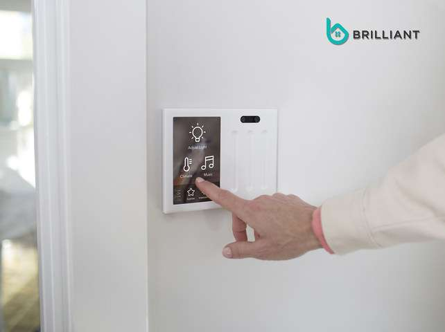 Brilliant Control sports smart lighting, can work with other smart home devices