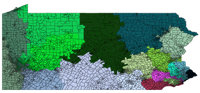 Mathematical theorem finds gerrymandering in PA congressional district maps