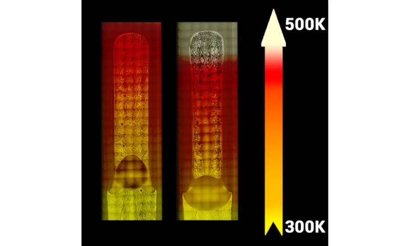 Unusual fluid behavior observed in microgravity