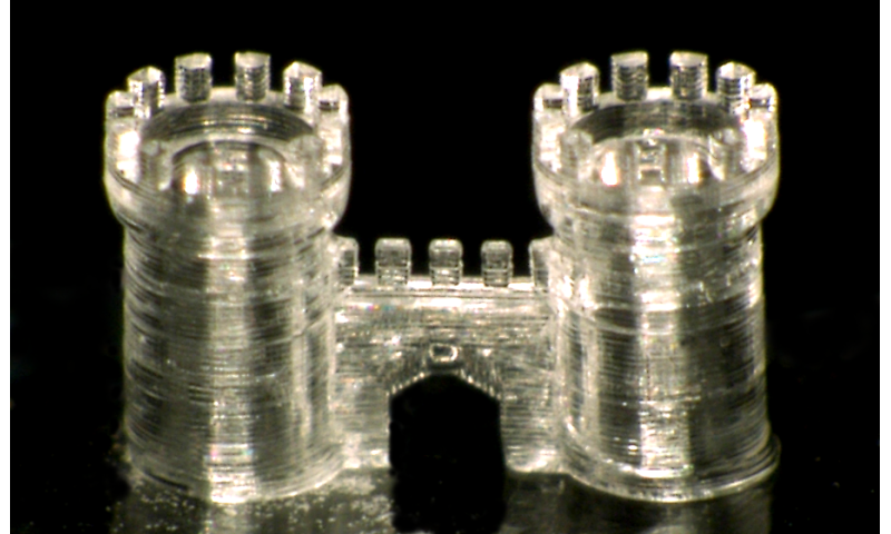 3-D printing glass objects