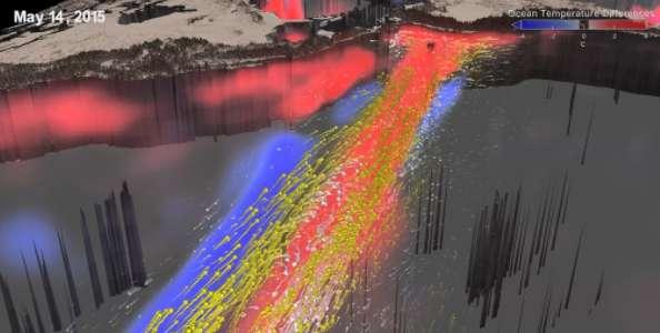 A 3-D look at the 2015 El Nino