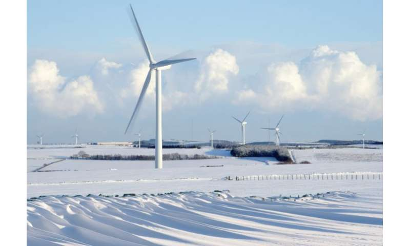 Wind turbines can pick up the slack on coldest days