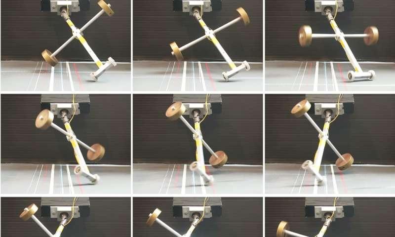 Problem of wheeled suitcases wobbling explained
