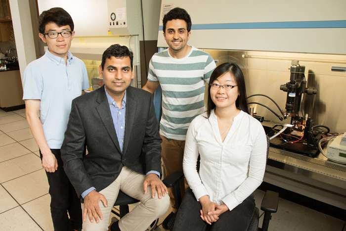 Researchers develop dynamic templates critical to printable electronics technology