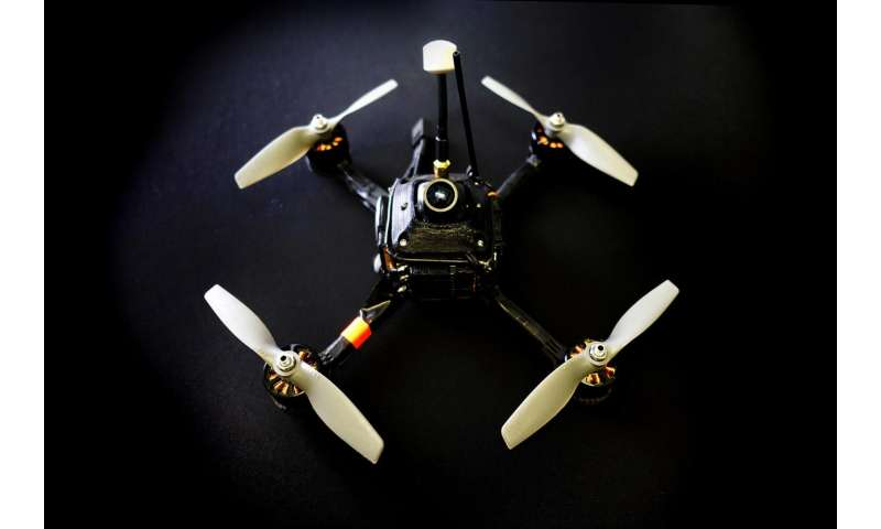 DRL pockets rainbow for fastest racing drone