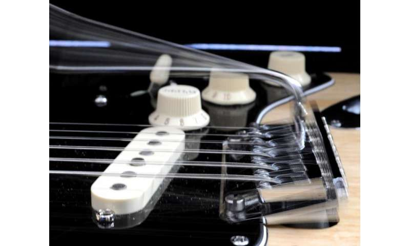 Revolutionary guitar string rocks the guitar world
