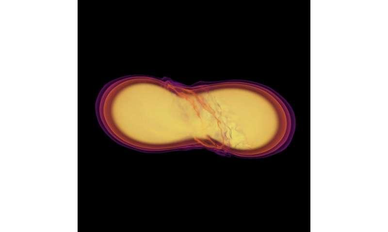 Neutron star merger confirms decades of predictions