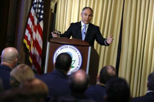 Environmental Protection Agency Administrator Scott Pruitt is said to be pushing for an exit from the Paris climate change accor