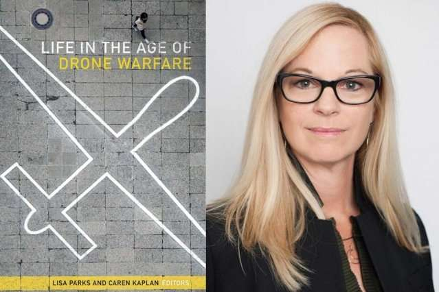 Expert discusses drones, warfare and the media