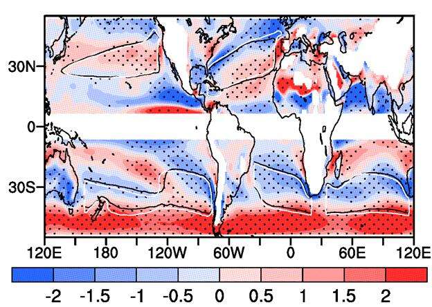 Global warming will leave different fingerprints on global subtropical anticyclones