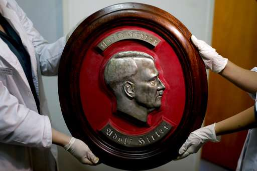 Hidden trove of suspected Nazi artifacts found in Argentina