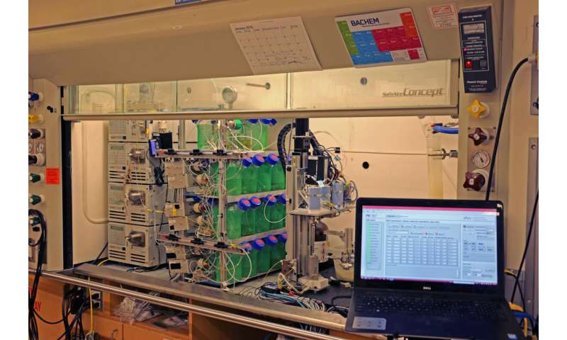 New technology offers fast peptide synthesis