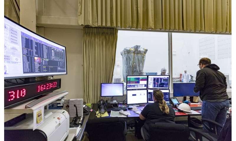 Parker solar probe comes to NASA Goddard for testing