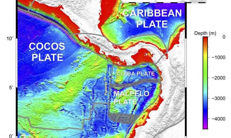 Scientists say Malpelo microplate helps resolve geological misfit under Pacific Ocean