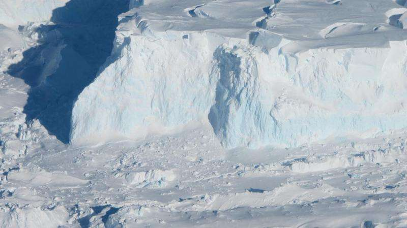 Study shows Thwaites Glacier's ice loss may not progress as quickly as thought