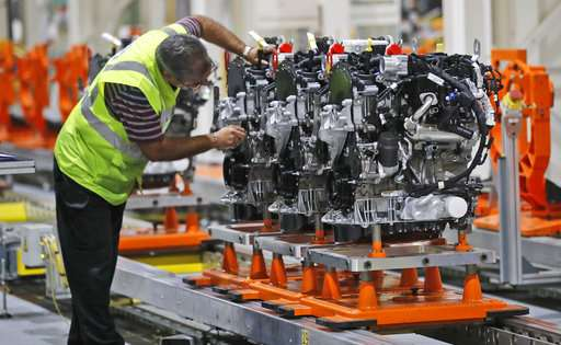 Globalized auto industry vulnerable to new Brexit borders