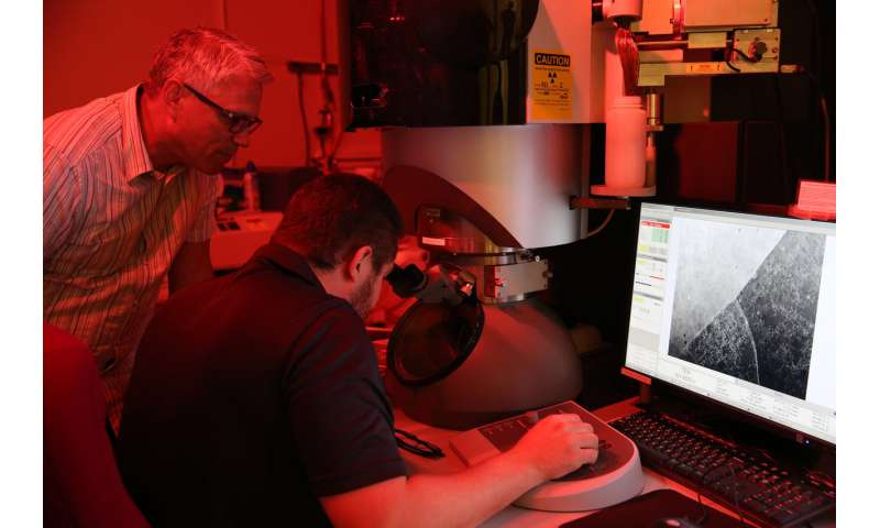 Lab researchers achieve breakthrough in 3-D printed marine grade stainless steel