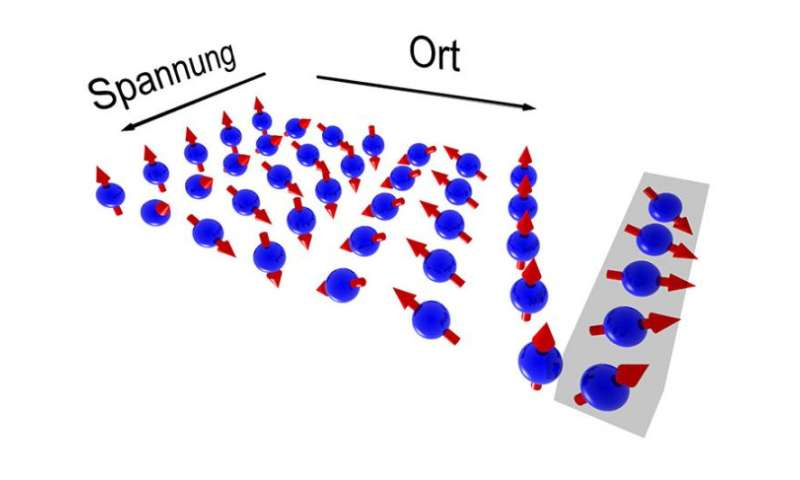 Manipulating electron spins without loss of information